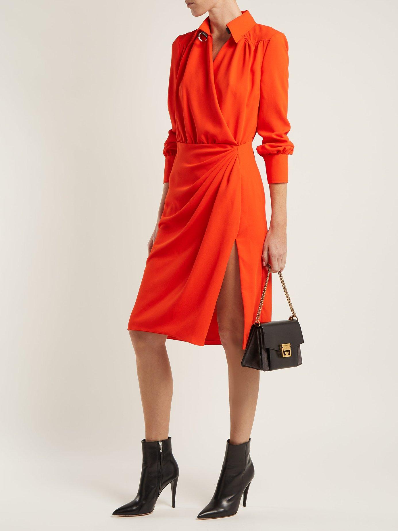 Kat wrap-front dress by Altuzarra