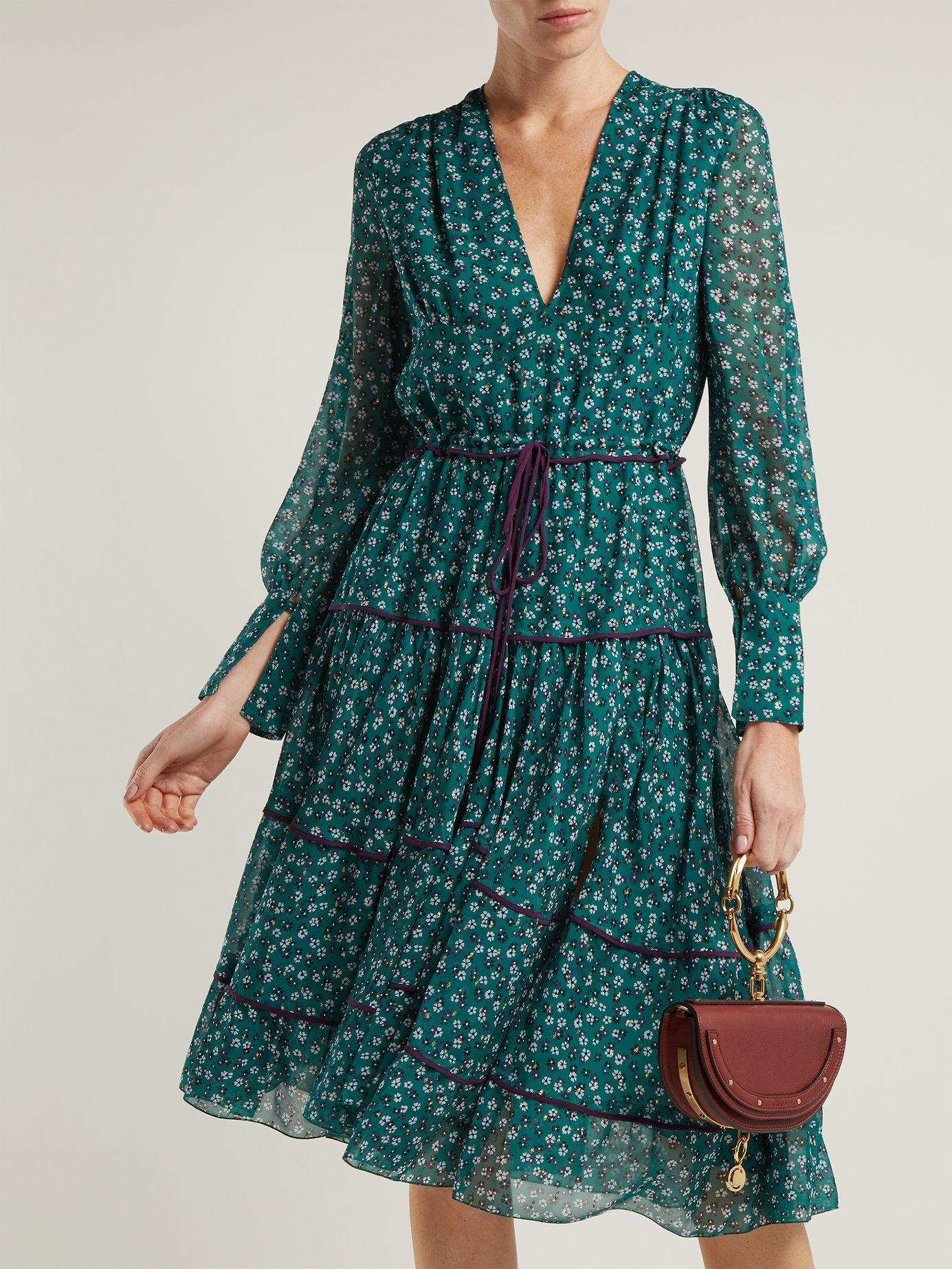 Isabel floral-print dress by Altuzarra