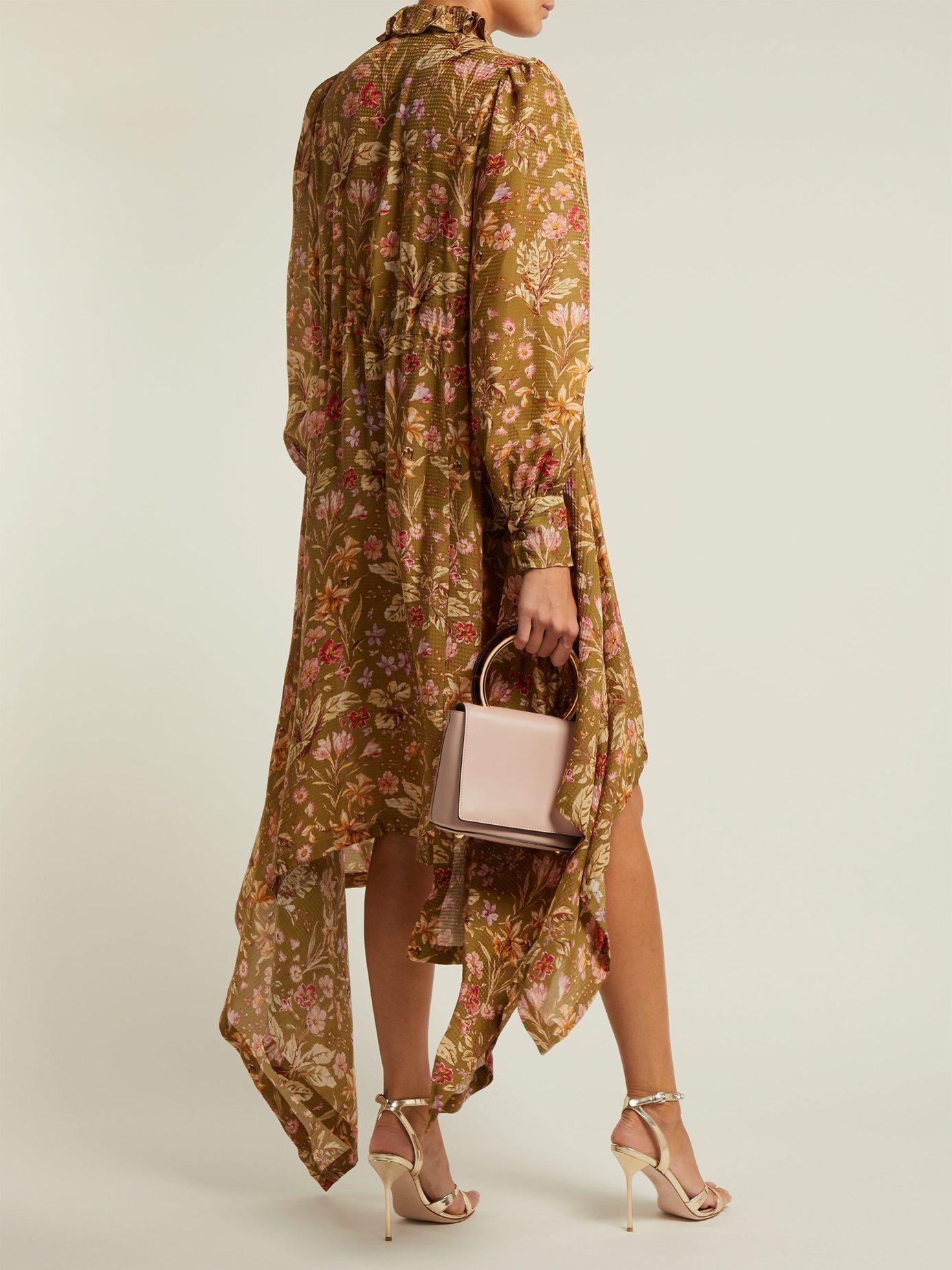 Joan garden floral-print silk maxi dress by Preen By Thornton Bregazzi
