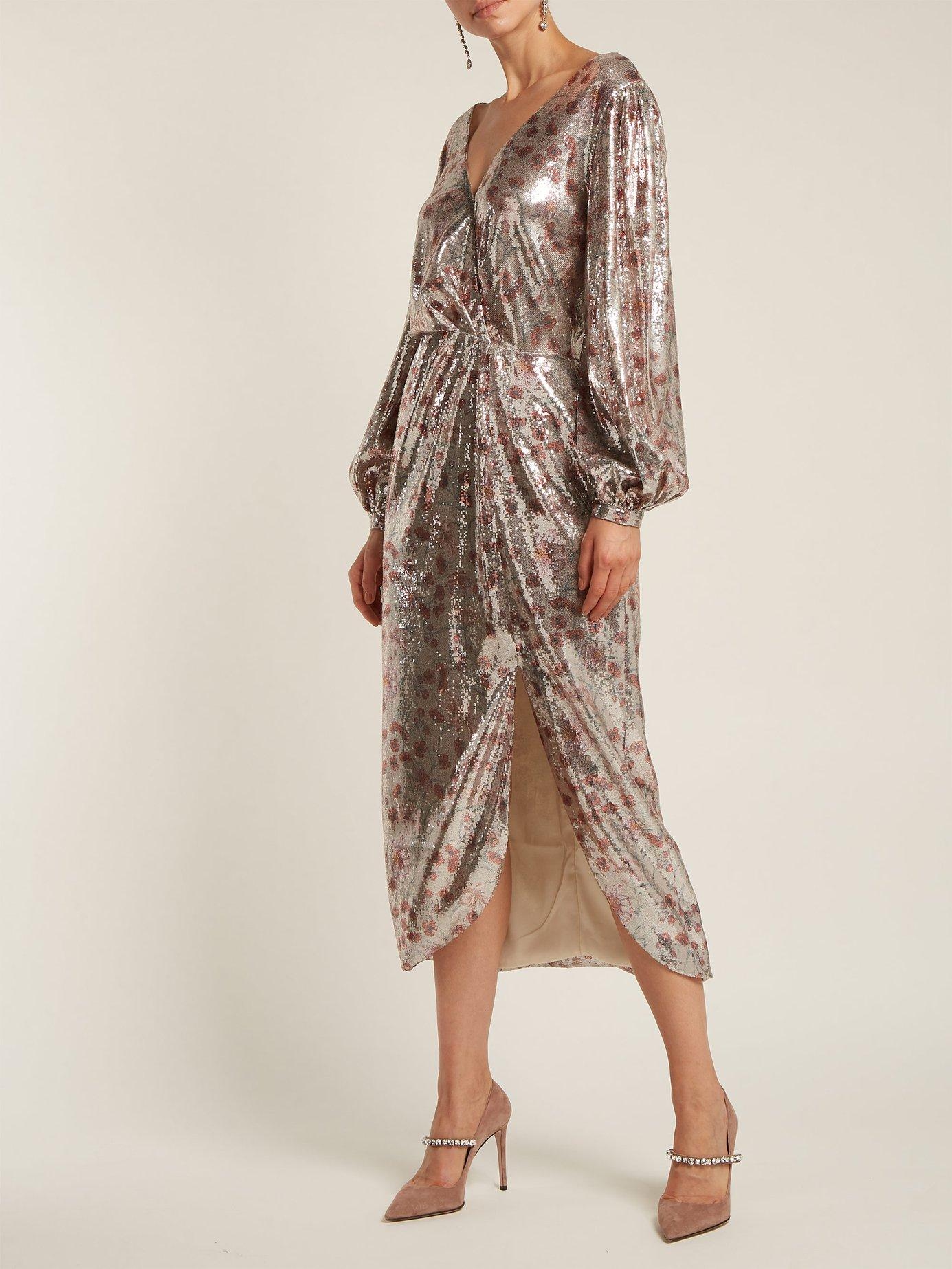 Alfonsina Storni sequinned dress by Johanna Ortiz