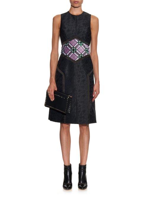 Cowie sequin-embellished jacquard dress by Mary Katrantzou