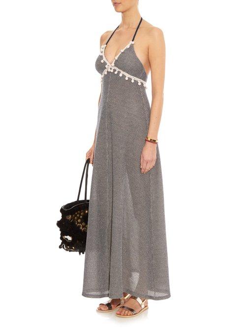 Careyes Steph halterneck maxi dress by Vmt