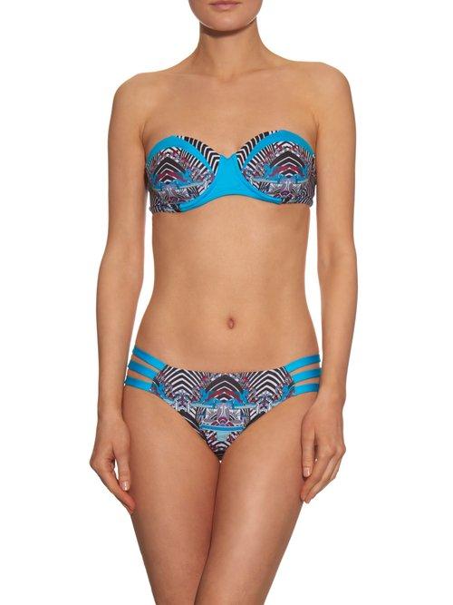 Gershwin bandeau bikini top by Paolita