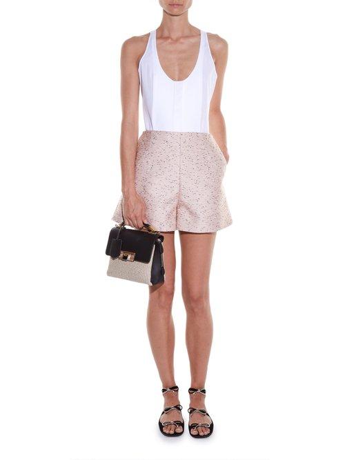Bib-front sleeveless top by Balenciaga