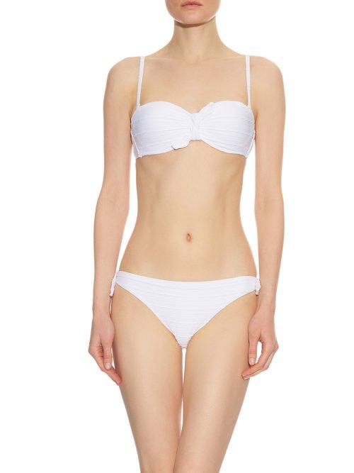 Mykonos tie-side bikini briefs by Heidi Klein