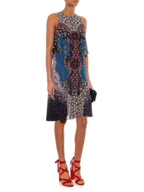 Spectra Cosmo-print silk dress by Mary Katrantzou