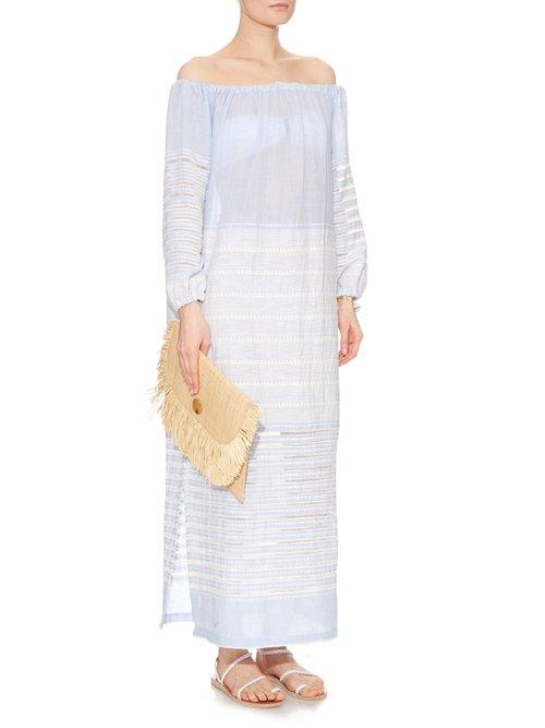 Almaz off-the-shoulder dress by Lemlem