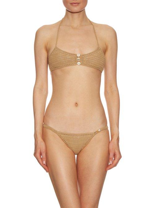 Savarna hipster crochet bikini briefs by She Made Me