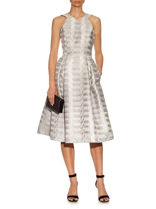 Laguna A-line jacquard dress by Mary Katrantzou