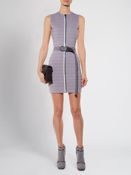 Zip-through bandage mini dress by Christopher Kane