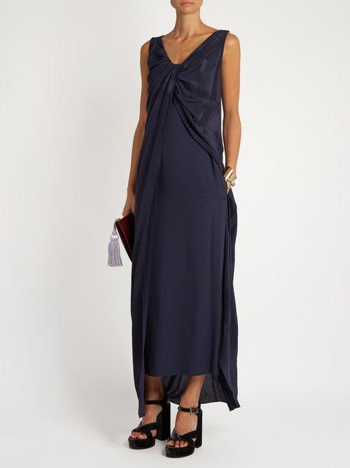 Twist Club Kids jacquard silk dress by Sies Marjan