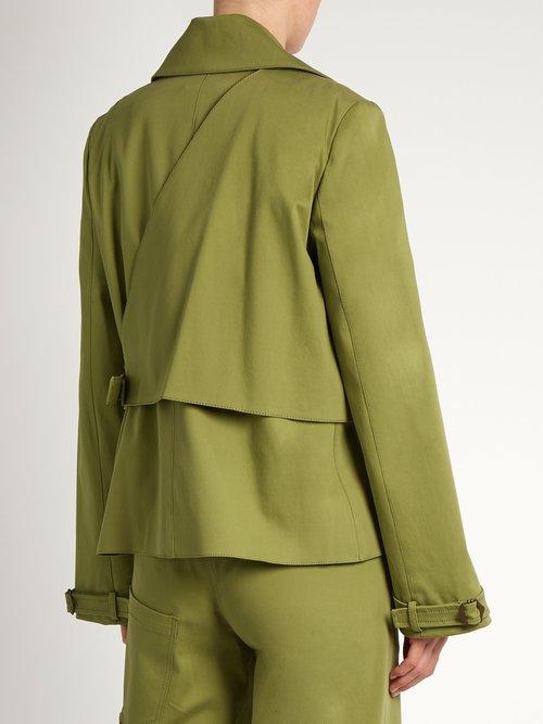 Yipee Ki-Yay cotton-blend twill jacket by Rosie Assoulin