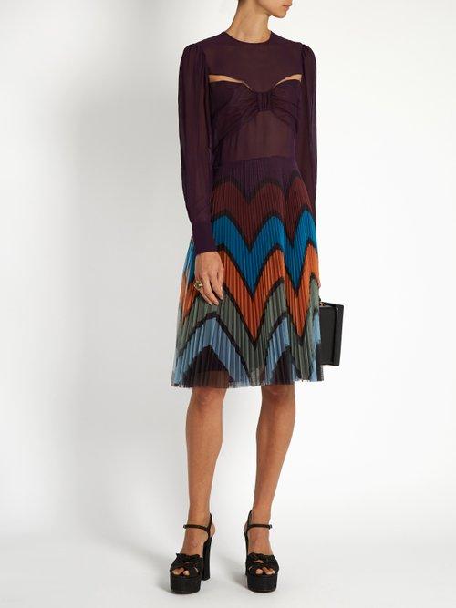 Beta Prunga-print dress by Mary Katrantzou