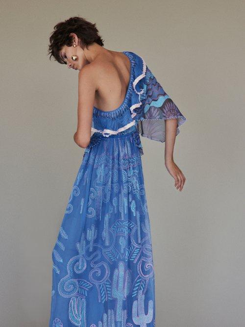 Archive I The 1976 Grace dress by Zandra Rhodes