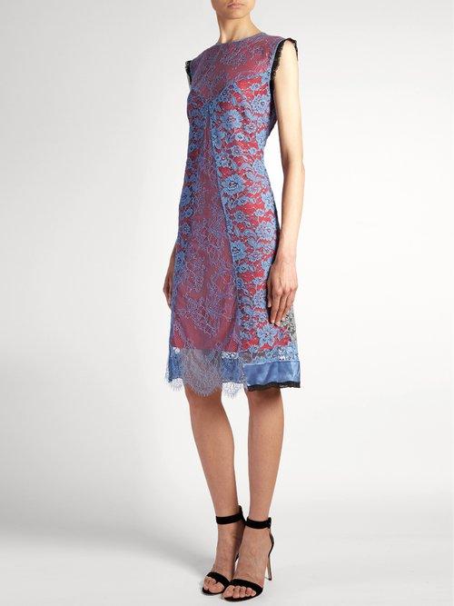 Harry lace-overlay dress by Altuzarra