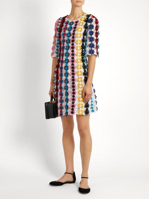 Lennax guipure-lace mini dress by Mary Katrantzou
