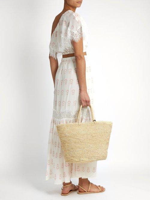 Summer Morning silk top by Athena Procopiou