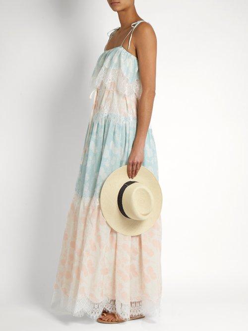 A Bohemian Romance cotton-blend dress by Athena Procopiou