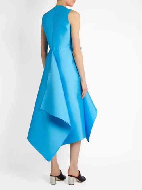 Bow-front embellished dress by Maison Rabih Kayrouz