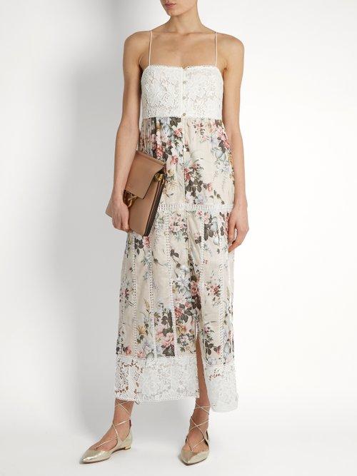 Aerial Sun cotton dress by Zimmermann