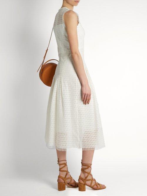 Diamond lace dress by Goat