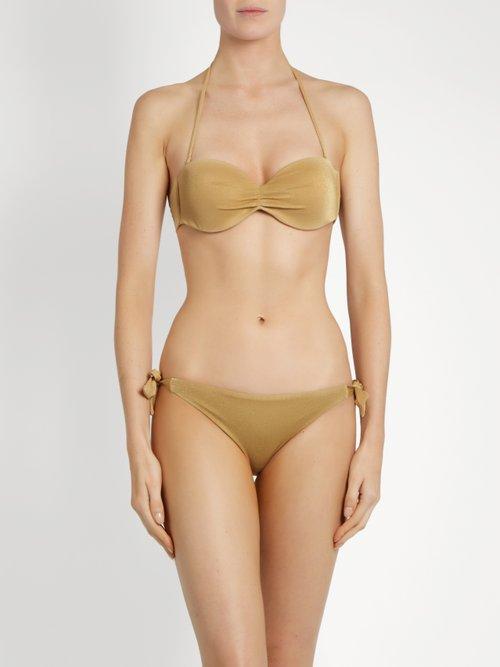 Carmel tie-side bikini briefs by Biondi
