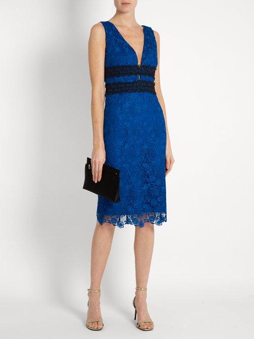 Shop Diane Von Furstenberg Viera dress online sale