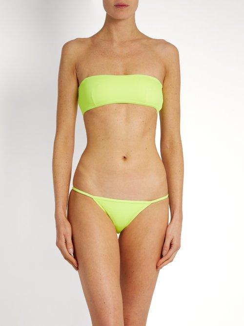The Kate bandeau bikini top by Solid & Striped