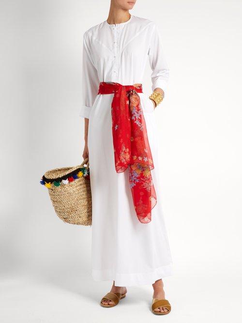 Shereen cotton kaftan by Muzungu Sisters