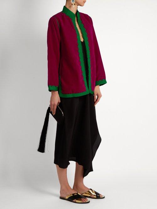 Dalia velvet jacket by Muzungu Sisters