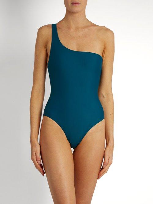 Apex one-shoulder swimsuit by Jade Swim