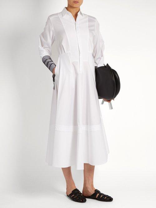 Muse cotton-poplin shirtdress by Amanda Wakeley
