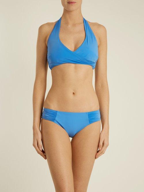 Body halterneck bikini top by Heidi Klein