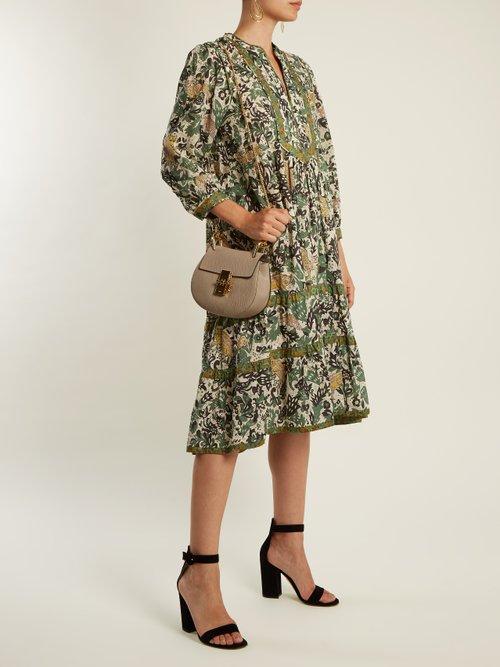 Kassandra cotton-batiste dress by Burberry