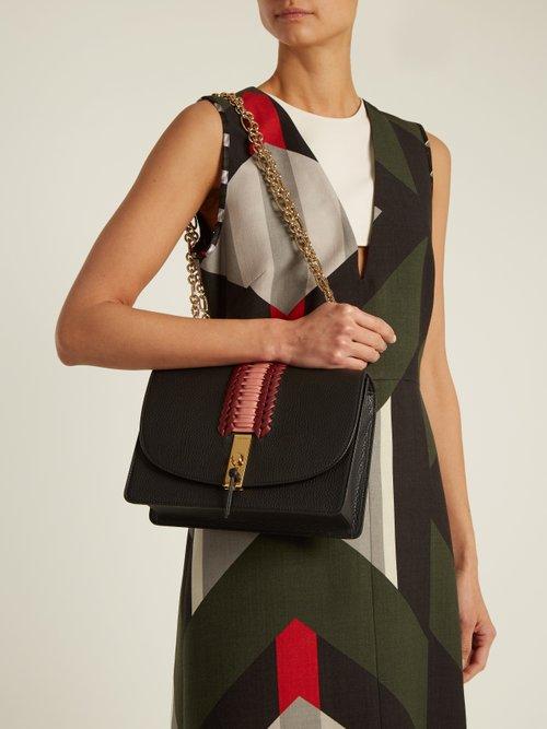 Ghianda leather cross-body bag by Altuzarra
