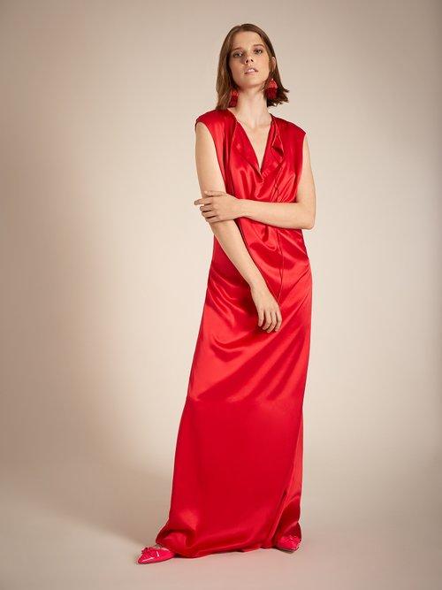 Shop Balenciaga Slide gown online sale