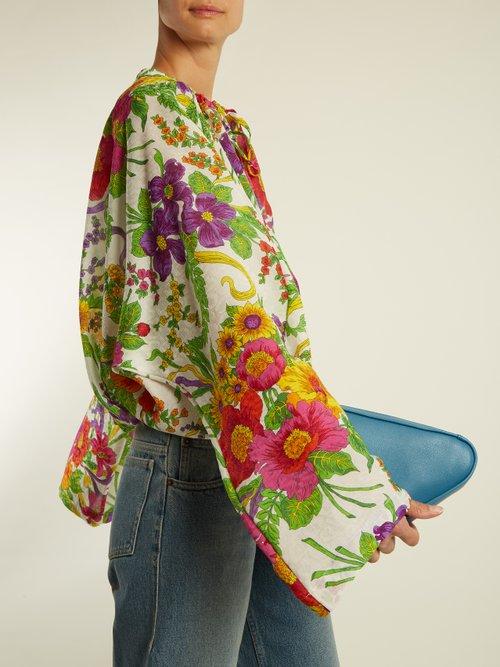 Photo of Peignoir blouse by Balenciaga - shop Balenciaga tops and blouses online sales