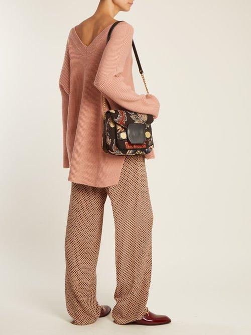 Buy Stella Mccartney bag online - photo of Stella Popper tapestry shoulder bag