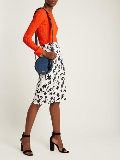 Buy Diane Von Furstenberg bag online - photo of Circle leather cross-body bag