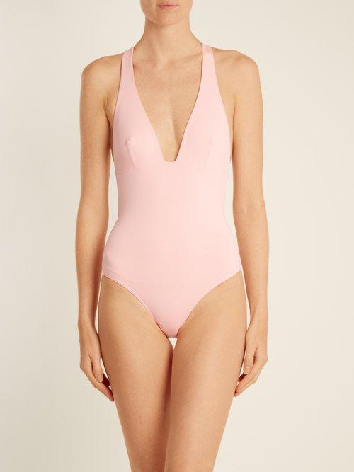 T-back bonded swimsuit by Ephemera