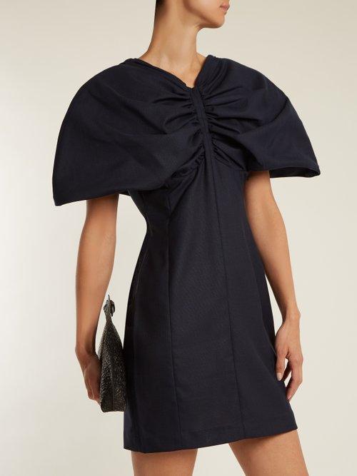 La Mini Vallauris wool mini dress by Jacquemus