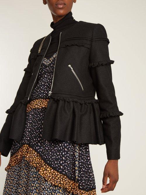 Alice Wool Blend Jacket by Preen Line