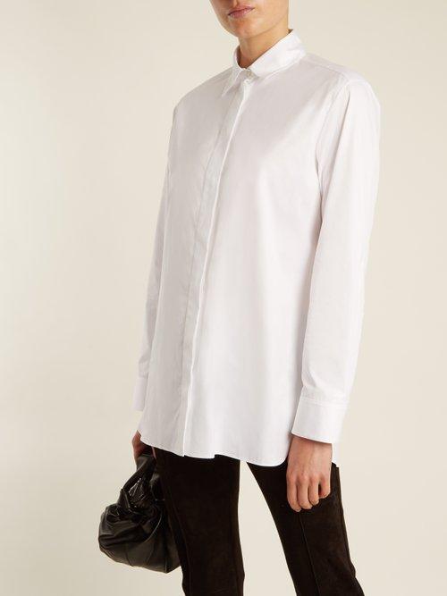Big Sisea cotton-twill shirt by The Row
