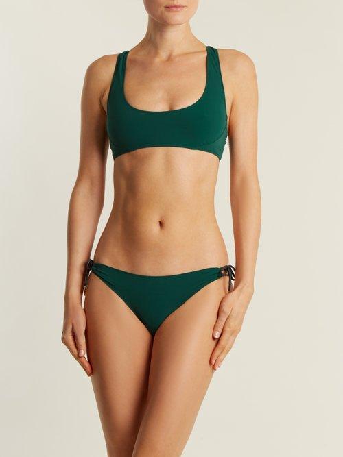 Tie-side low-rise bikini briefs by Stella Mccartney