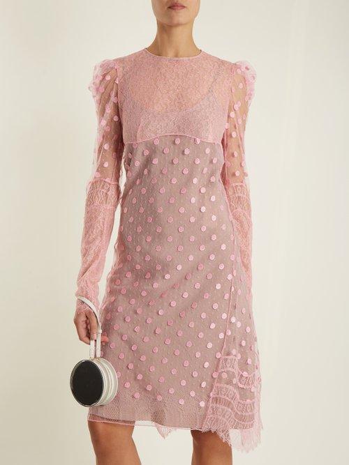 Polka-dot tulle dress by Nina Ricci