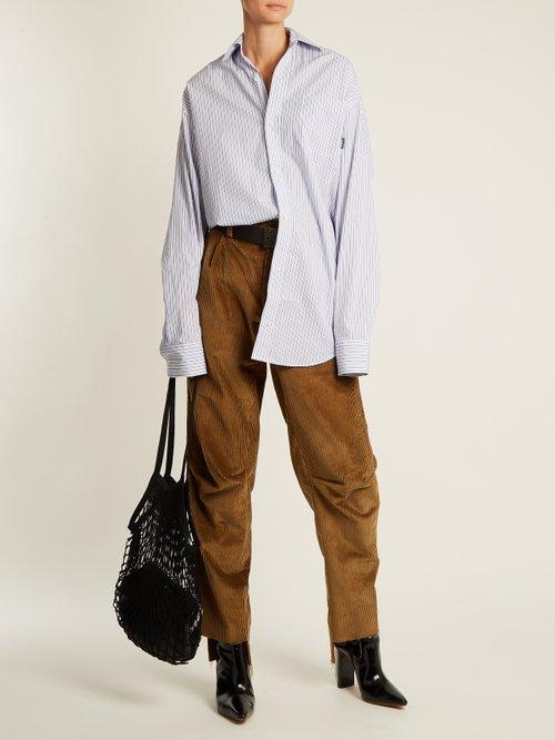 Granny medium leather bag by Vetements