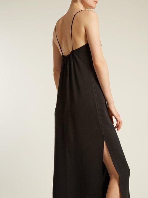 Dara V-neck sleeveless slip dress by Elizabeth And James