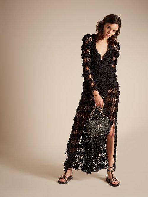 Lotus Crochet Knit Maxi Dress by My Beachy Side