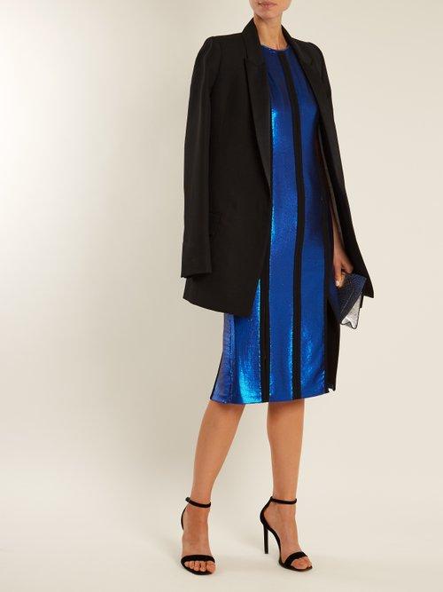 Sequin-embellished midi dress by Diane Von Furstenberg