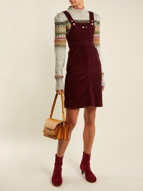 Photo of Marianne Corduroy Dress by Eve Denim - shop Eve Denim online sales